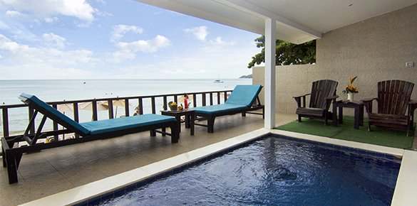 Pool Access Villa